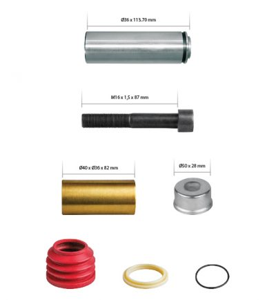 K000696 Caliper Guides & Seals Repair Kit