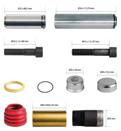 K052759K50 Caliper Guides & Seals Repair Kit