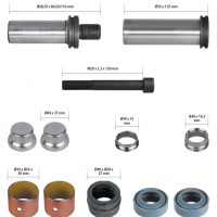 MCK1103 Caliper Guides & Seals Repair Kit