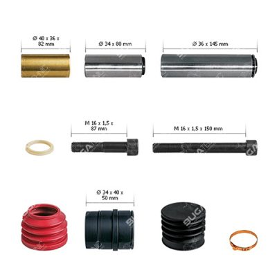 K000132 Caliper Guides & Seals Repair Kit